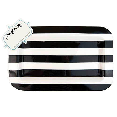 Happy Everything Mini Entertaining Platter Black