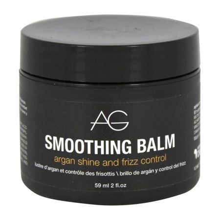 Smoothing Balm, Argan Shine And Frizz Control By Ag Hair Cosmetics - 2 Oz Balm