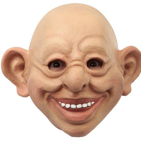 Adult Dummy Funny Costume Mask - Test Dummy Costume