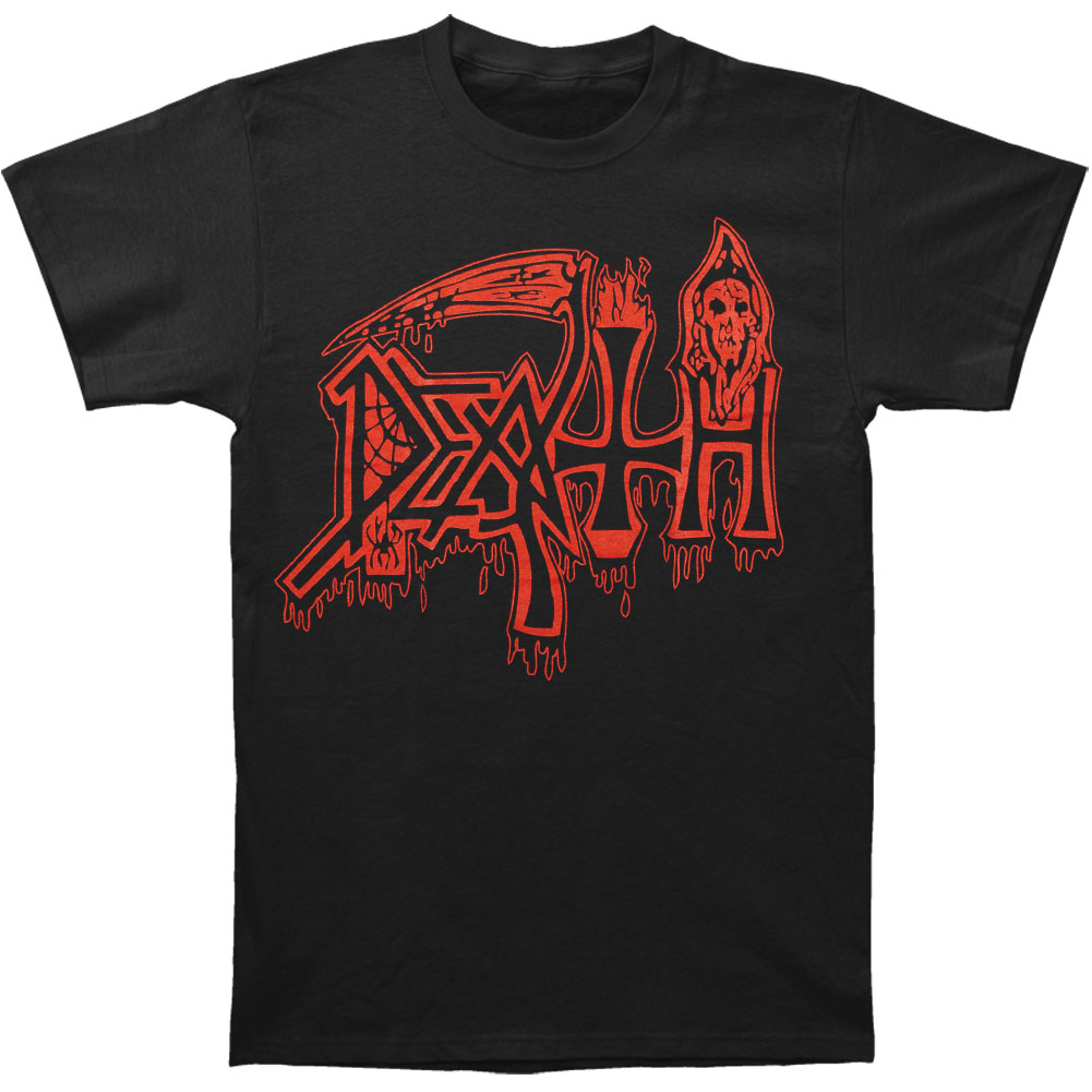 Death Men's  Life Will Never Last T-shirt Black