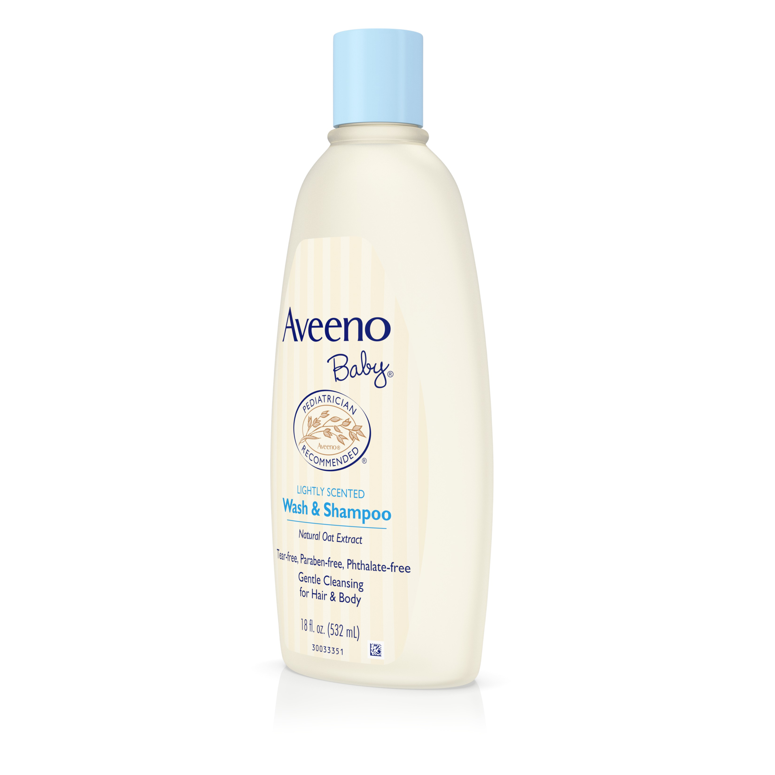 Aveeno Baby Gentle Wash Shampoo With Natural Oat Extract 18 Fl Clear Strong Soft Women 170 Ml Oz