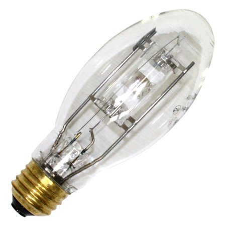 SYLVANIA 64587 - 50 Watt - E17 - METALARC PRO-TECH - Pulse Start - Metal Halide - Protected Arc Tube - 3000K - Medium Base - ANSI M110/O - Universal Burn -