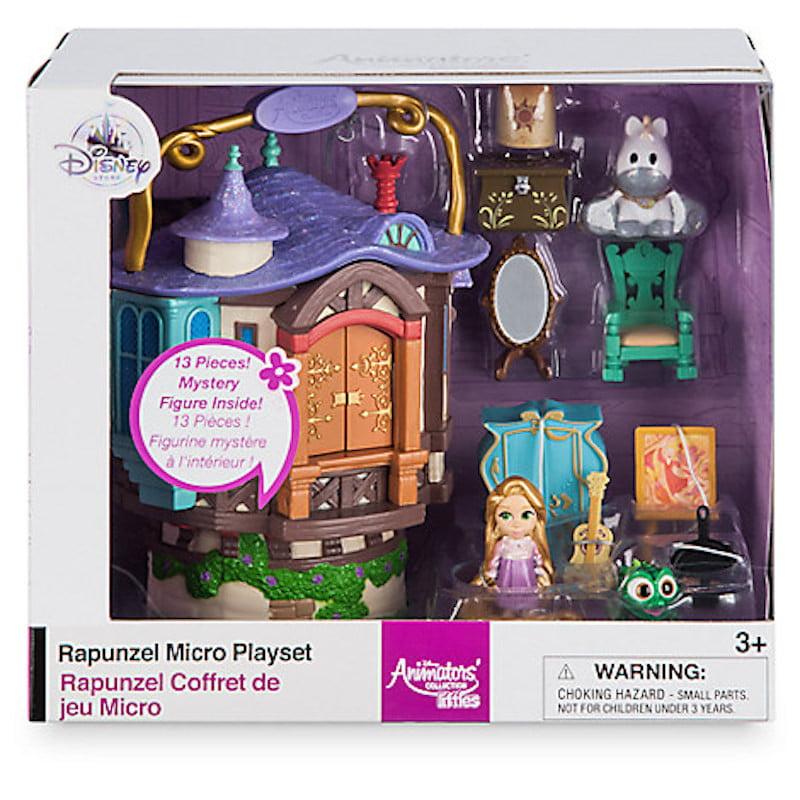 Disney Animators Collection Littles Rapunzel Micro Doll Play Set New With Box Walmart Com Walmart Com