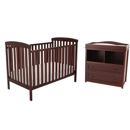 Afg Athena Leila Crib And Dresser Changing Table Set Choose Your Finish