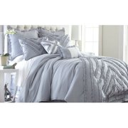 Julianne 8-piece Comforter Set - Queen - Gray