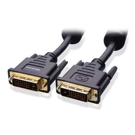 Cable Matters DVI to DVI Cable with Ferrites (DVI Dual Link Cable / DVI D Cable) 6 Feet - Available 6FT - 50 FT