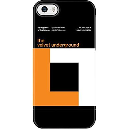 Uncommon Case Capsule Two Piece Hard Shell Swissted Vintage Rock Art By Mike Joyce For Iphone Se   5S  5   Velvet Underground