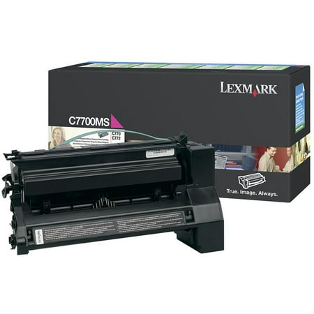 Lexmark, LEXC7700MS, C770/C772 Series Print Cartridge, 1 Each