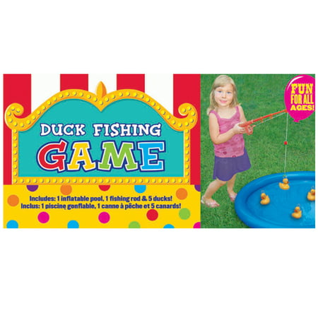 Duck Fishing Game with Inflatable Pool - Inflatable Hammers Wholesale