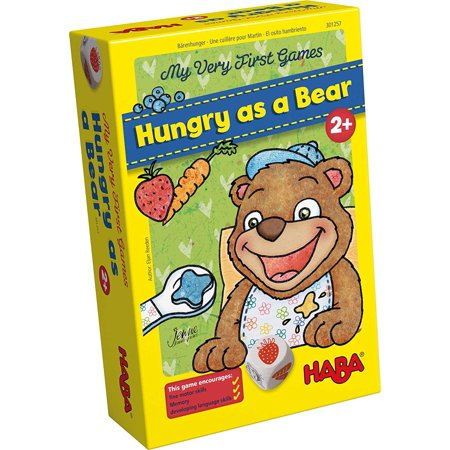 My Very First Games - Hungry as a Bear - A Memory & Dexterity Game for Ages 2 and Up, Little bear is starving! He needs to eat his fruits and.., By (Sharper Image Hungry Bear Target Shooting Game)