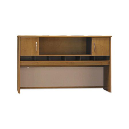 72 in. Series C Collection Two Door Hutch, Box 1 of 2 - Natural Cherry ()