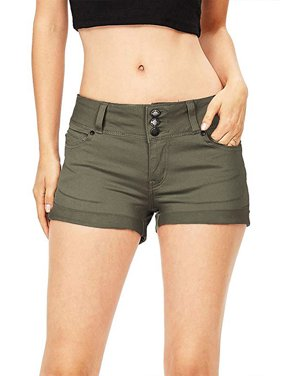 23d5db15ef03 Product Image JDinms Women's stretchy Mid Rise Denim Shorts