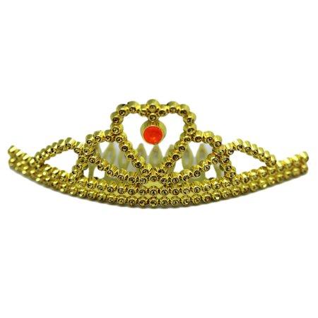 Children's Gold Colored Princess Hair Tiara