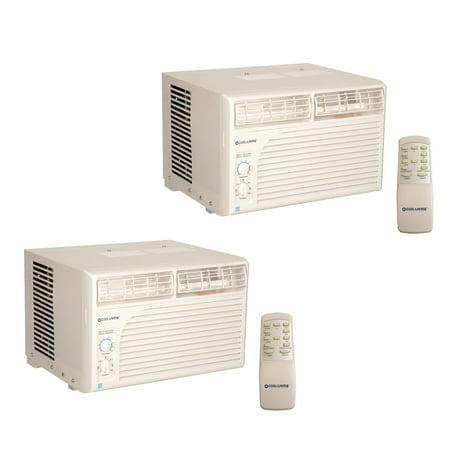 - 2) Cool Living 15,000 BTU Energy Star Window Mount Room Air Conditioner AC Units