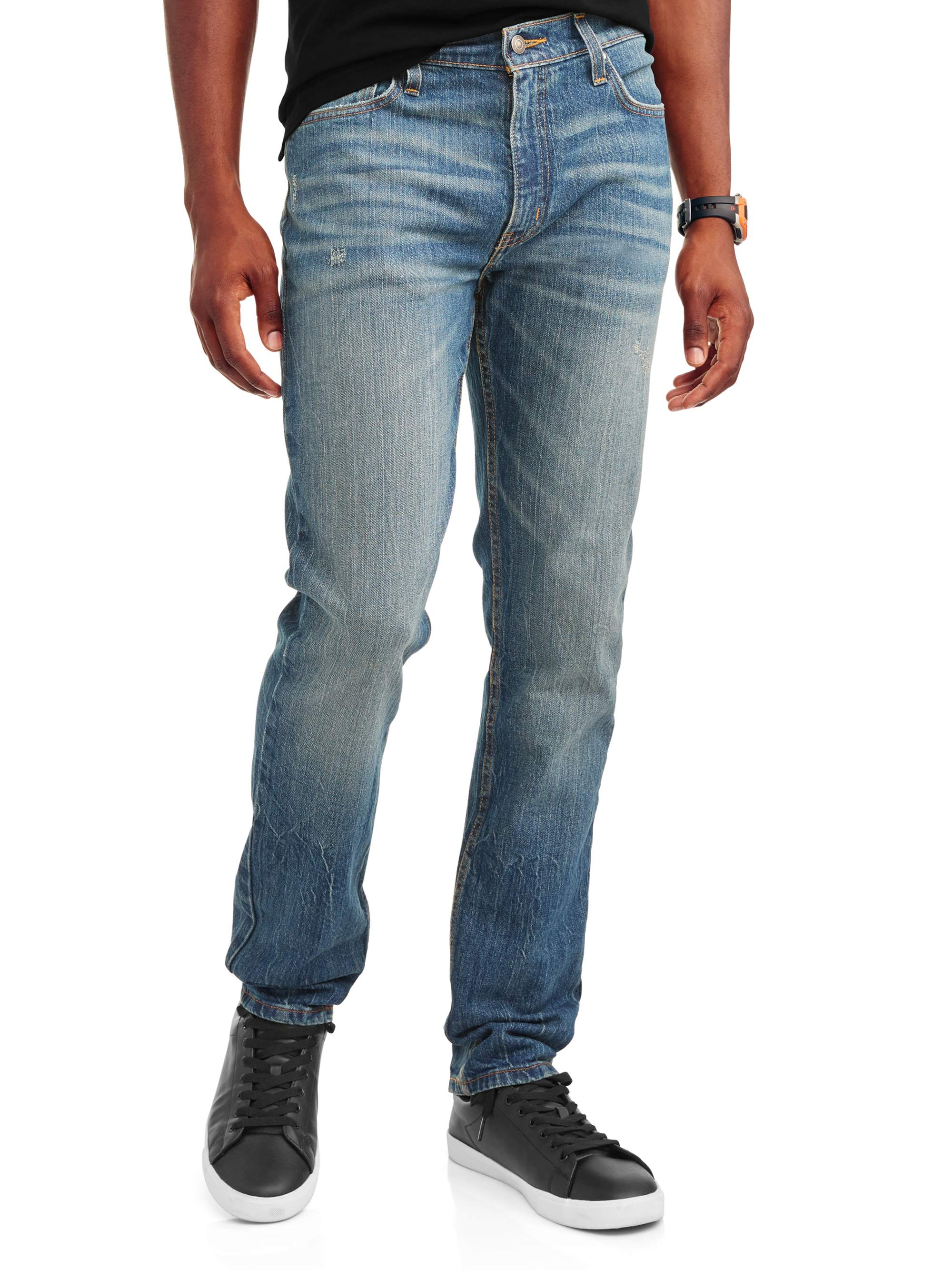 94c7bcef4 George - George Men's Slim Straight Fit Jean - Walmart.com