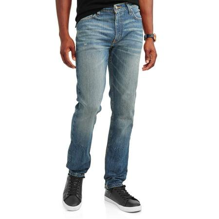 61a1cce4e71cc7 Men's Slim Straight Fit Jean 2-Pack Bundle - Walmart.com