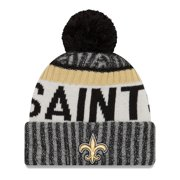 New Orleans Saints New Era Youth 2017 Sideline Official Sport Knit Hat - Black - OSFA