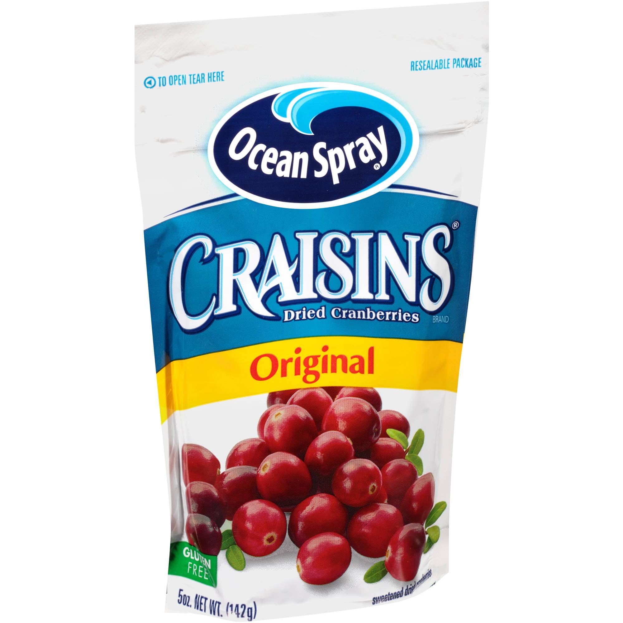 Craisins Original Dried Cranberries, 5 oz