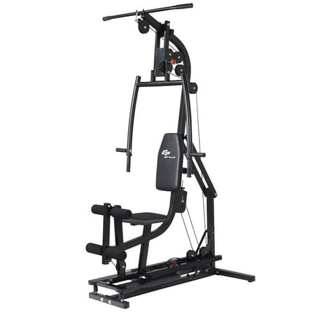 Goplus Multifunctional Home Gym Station Workout Machine Total Body Training Steel