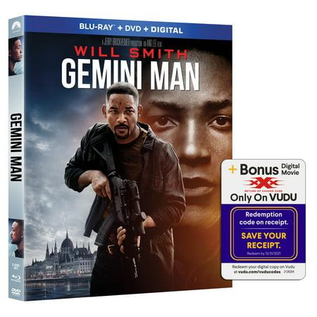 Gemini Man (Blu-ray + DVD + Digital Copy)