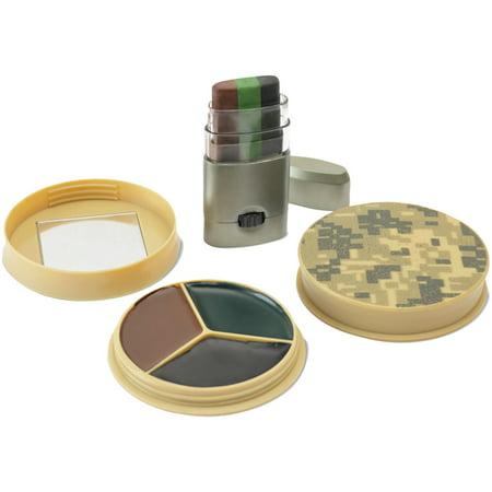 HME HME-CMOFPDS 3 Color Camo Face Paint -