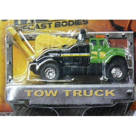 Tonka Metal Diecast Bodies - Tow Truck - GreenBlack by Tonka - image 1 de 1