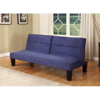 Klik-Klak Sleeper Sofa Finish: Blue