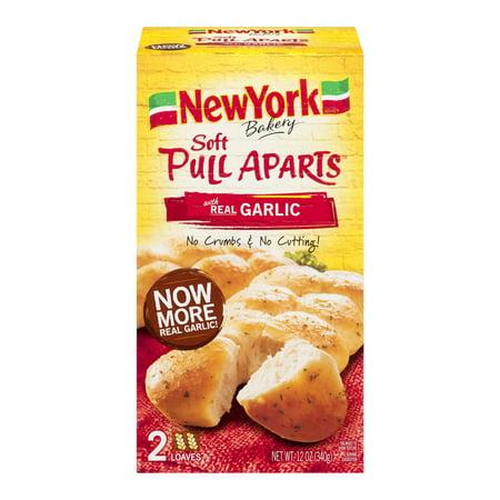 york soft pull aparts garlic bread  oz box walmartcom