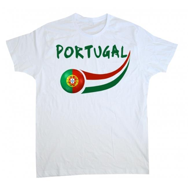 Supportershop WCPT8Y Portugal Soccer Junior T-shirt 8-9 years by