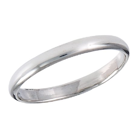 New 925 Sterling Silver Thin Plain Fashion Or Wedding Band Ring Sizes 1