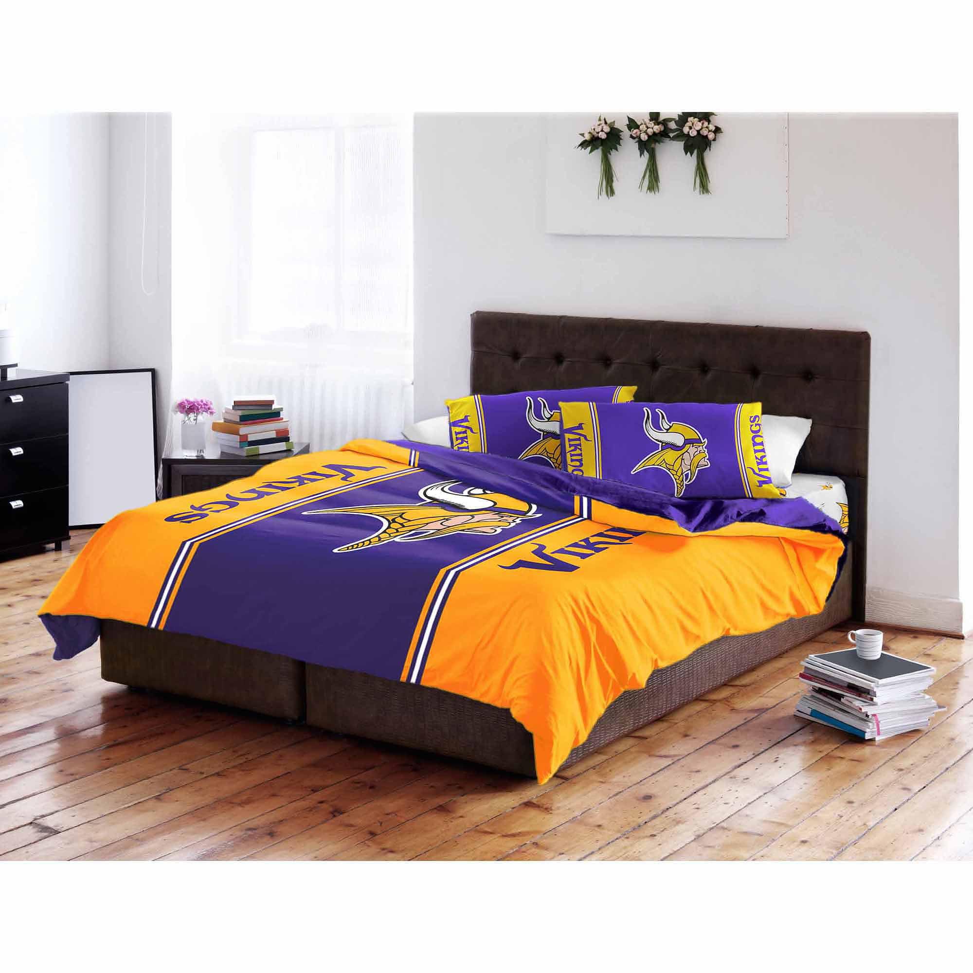 NFL Minnesota Vikings Twin/Full Bedding Comforter