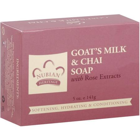 Nubian Heritage Bar Soap, Goat