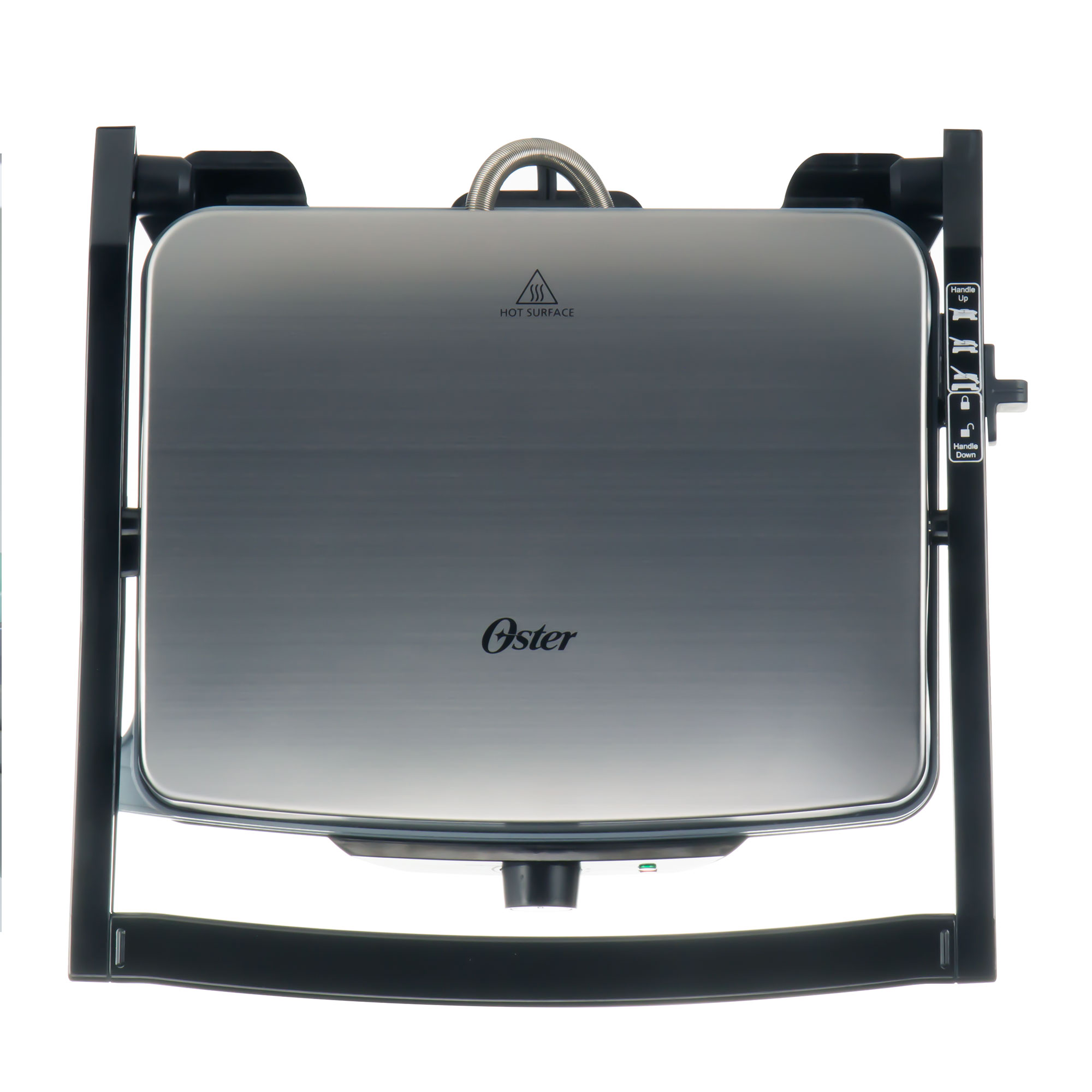 Oster 3-in-1 Panini Maker | Indoor Grill | Grill, Black