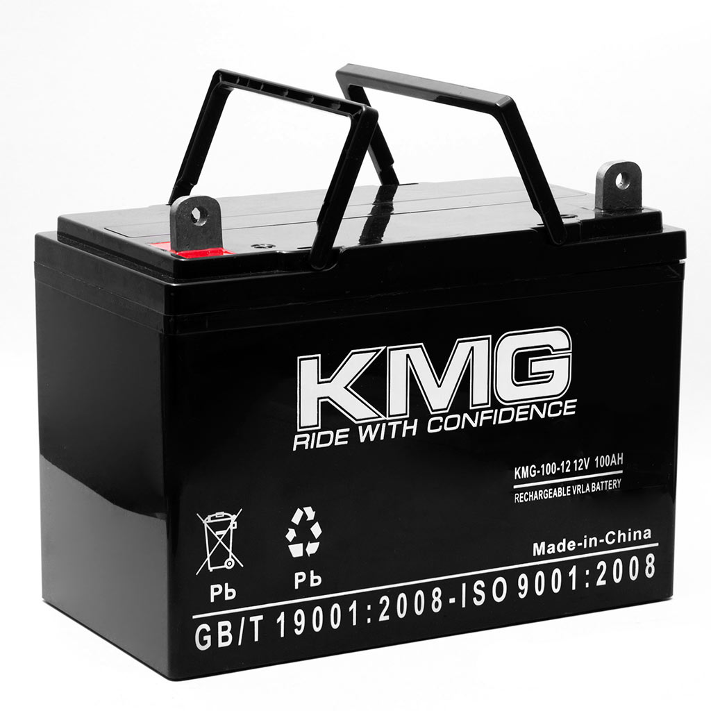 KMG 12V 100Ah Replacement Battery for Werker WKA12-100C/FR