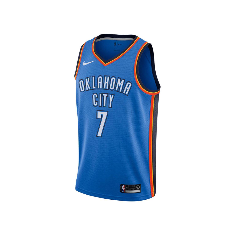 b906d401216d Oklahoma City Thunder Carmelo Anthony Nike NBA Men s Icon Swingman Jersey -  Walmart.com