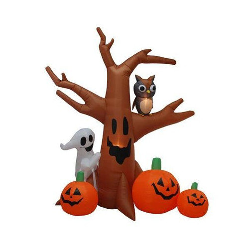 BZB Goods Halloween Inflatable Haunted Tree Decoration