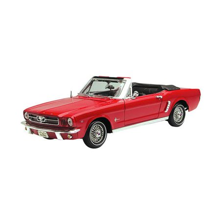 Motormax MOT73145AC-R 1964 1-2 Ford Mustang Convertible, Red ()