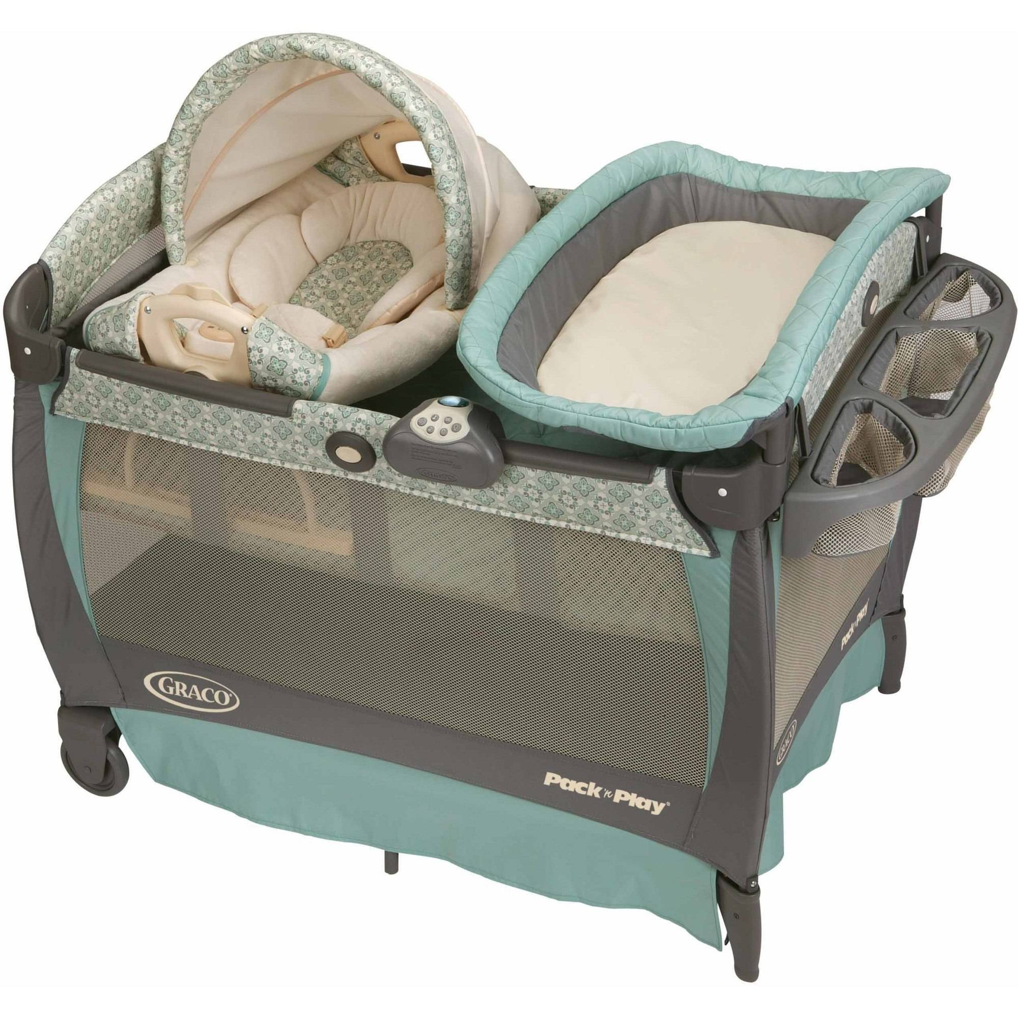 Graco Pack 'N Play Play Pen with Cuddle Cove Rocking Seat, Winslet by Graco