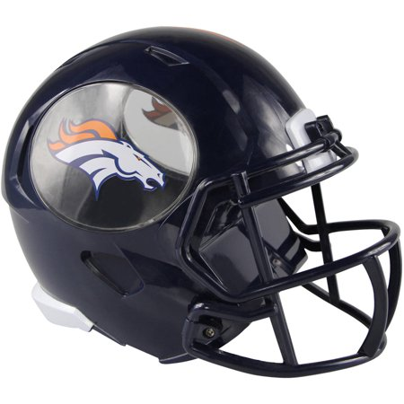 Forever Collectibles NFL Mini Helmet Bank, Denver Broncos