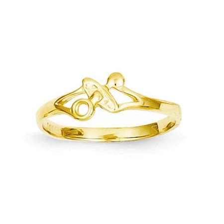 Adult Pacifier (14k Pacifier Baby Ring)