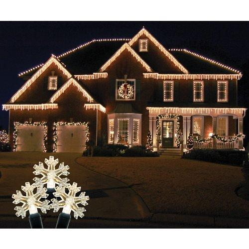 Christmas at Winterland  S-ICSNWW-IW  Icicle Lights  Holiday Icicle Lights  Holiday Lighting  LED  ;Warm White