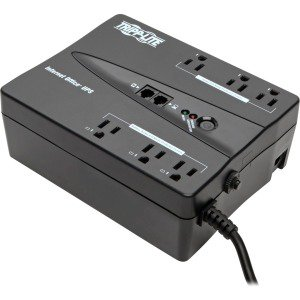 Tripp Lite 6-Outlet 350VA/180-Watt USB UPS System And DB9 Serial Port Interface