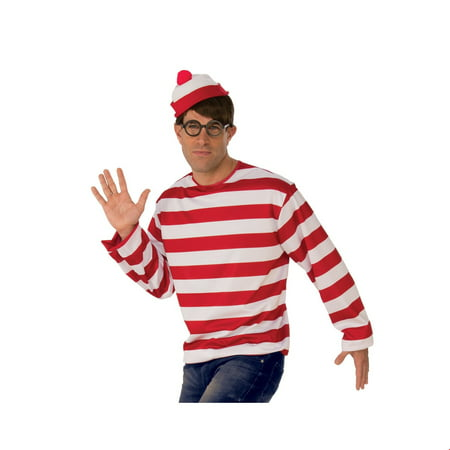 Where's Waldo Hat Halloween Costume (Where's Waldo Costume Boy)