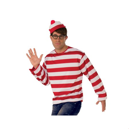Where's Waldo Hat Halloween Costume Accessory](Wilko Halloween)