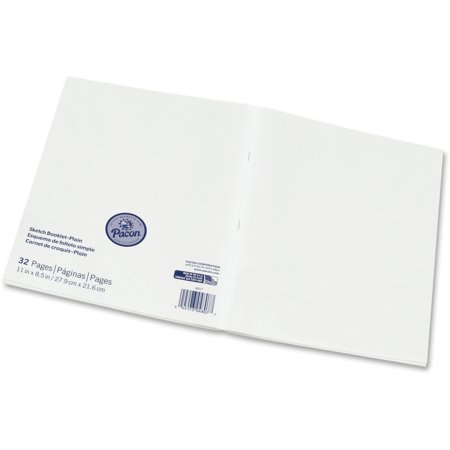 Pacon Beginner Sketch Booklet Bulk Carton Pack (48 (Best Sketch Pad For Pc)