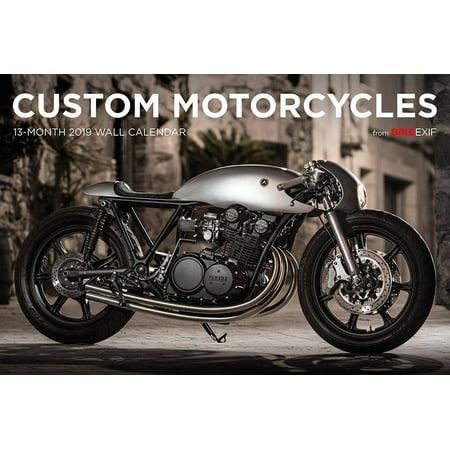 Bike Exif Custom Motorcycle Calendar 2019 -