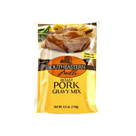 Southeastern Mills Roast Pork Gravy Mix 4.2 oz. Packets (3 (Best Sauce For Roast Pork)