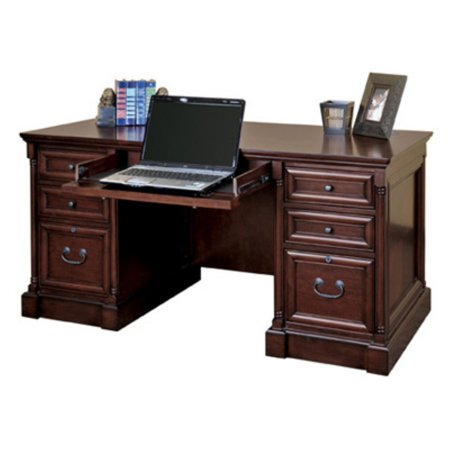Martin Furniture Mount View Efficiency Double Pedestal (Double Pedestal Desk)