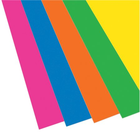 "Flipside Foam Board, Neon Assorted, 20"" x 30"", Pack of 10"