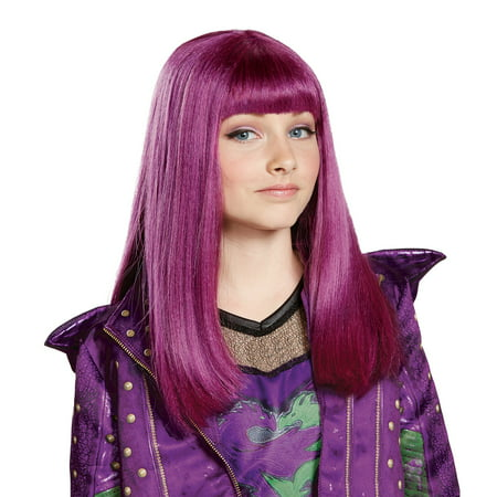 Disney's Descendants 2: Mal Child Wig - Bowie Wig